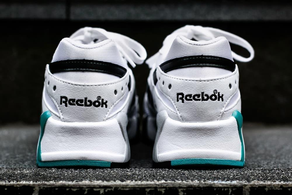Reebok Aztrek White Solid Teal