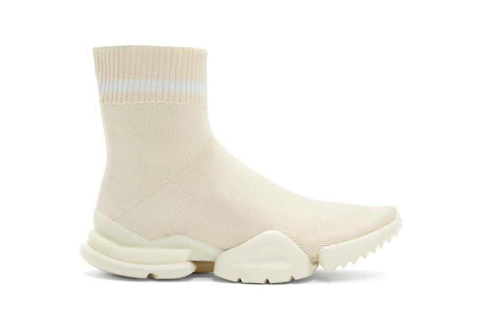 Reebok Sock Runner White