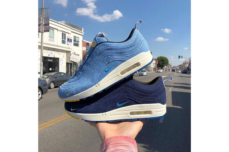 Sean Wotherspoon Nike Air Max 1/97 Blue Sample Pack