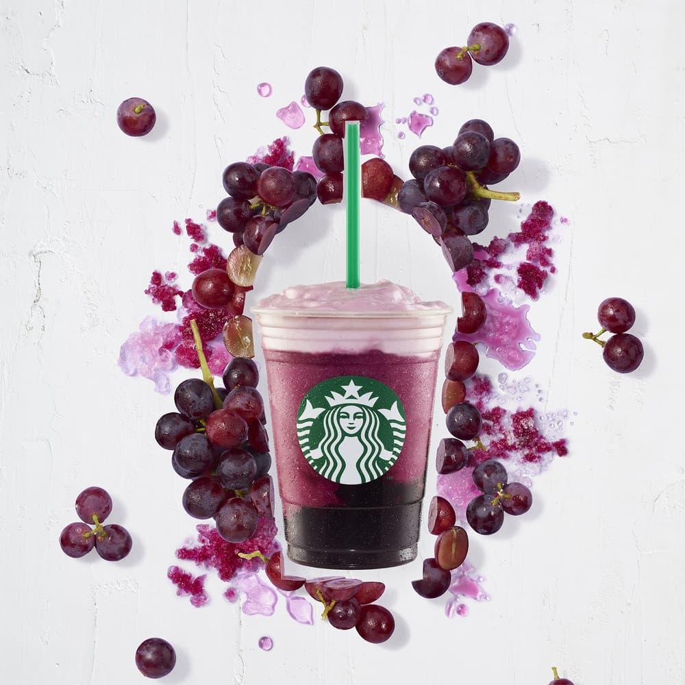 starbucks yogurt peach apricot frappuccino frap ruby red grape blended juice drink instagram