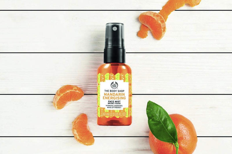 The Body Shop Mandarin Energizing Face Mist Vegan Cruelty Free Skincare Review