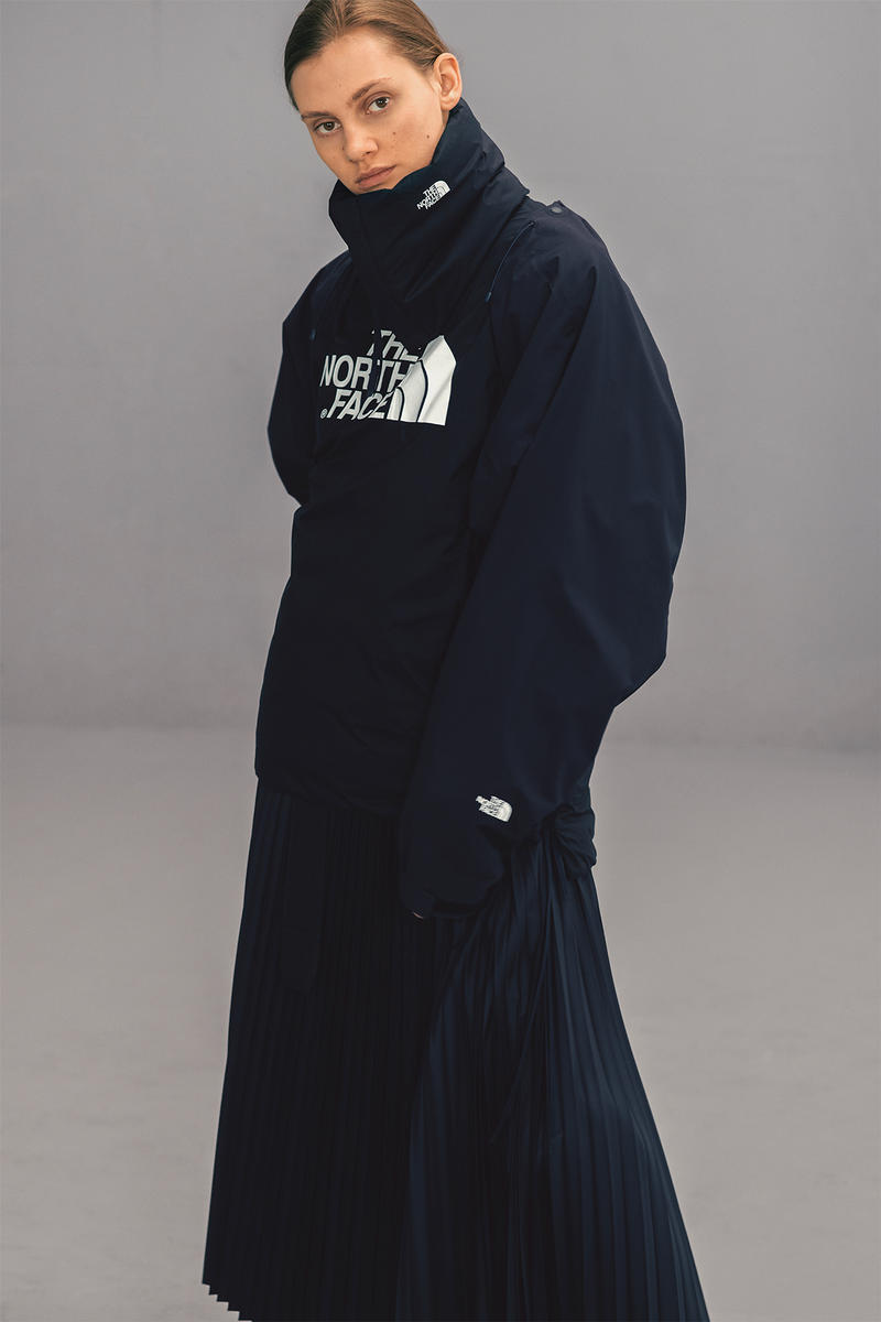... Purple Black Label collaboration collection august 12. 1   4. The North  Face x HYKE Fall Winter 2018 Lookbook Outerwear Jackets Puffers Silhouette  ... 602d395a2