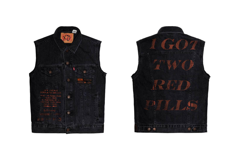 The Weeknd My Dear Melancholy Merch Vest