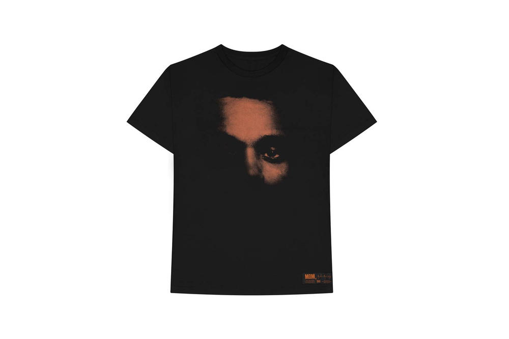 The Weeknd My Dear Melancholy Merch T Shirt Black