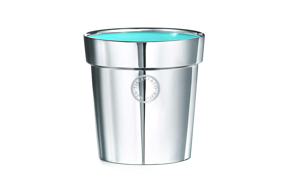 Tiffany & Co. Flora & Fauna Home Accessories Collection Sterling Silver Flowerpot