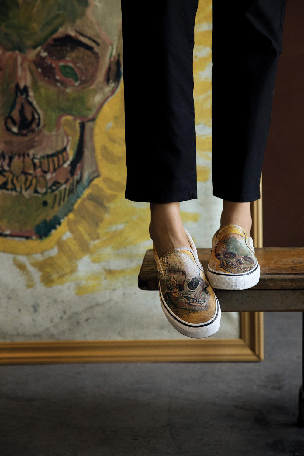 Vans the van gogh museum art history sk8-hi authentic sunflowers almond blossom self portrait