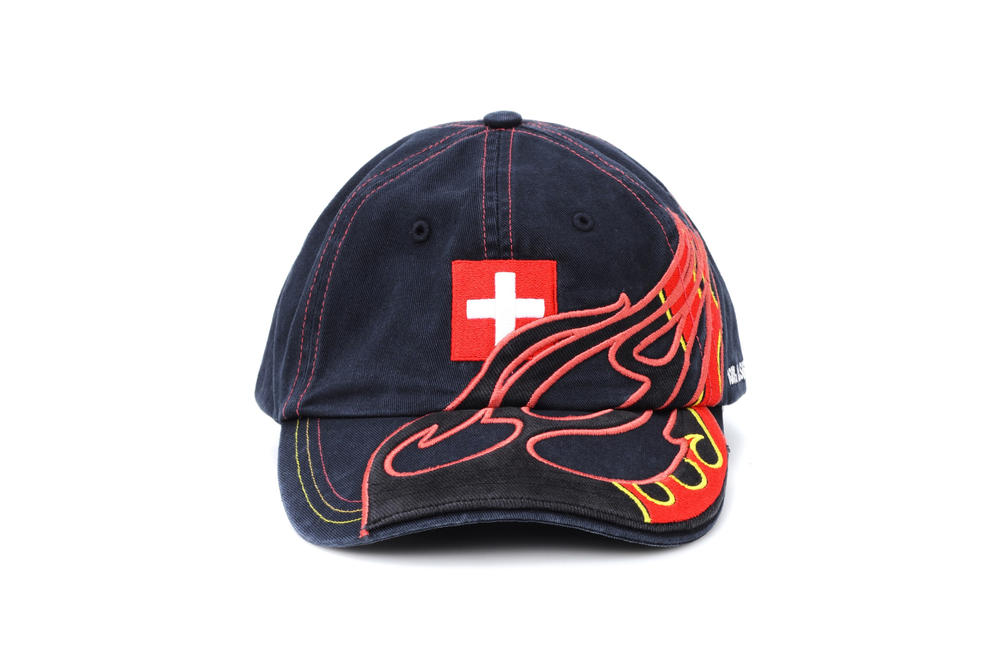 Vetements x Reebok Country Baseball Caps Embroidery Flag Print Hat Headwear Accessories Demna Gvasalia