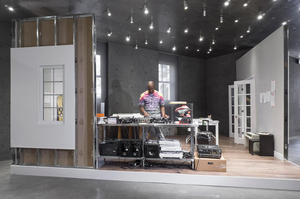Virgil Abloh SSENSE Montreal CUTTING ROOM FLOOR Exhibition