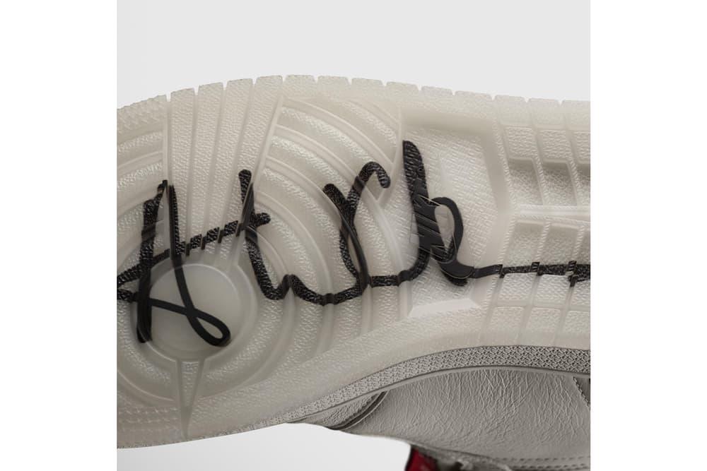 Vogue Anna Wintour Nike Air Jordan 1 Zip AWOK Sail