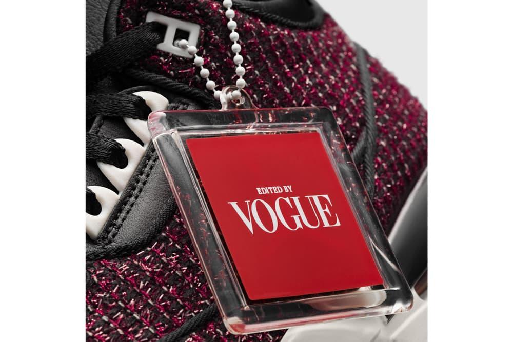 Vogue Anna Wintour Nike Air Jordan 3 AWOK Red
