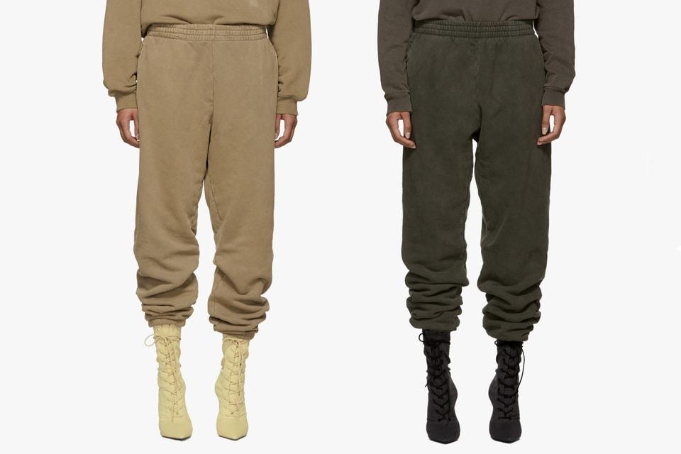 8ab243974f8e7 Where to Buy Yeezy Season 6 Sweatpants