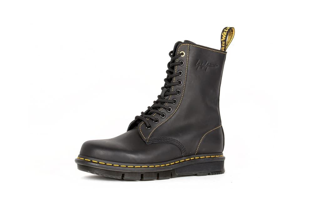 Yohji Yamamoto x Dr. Martens 1490 Boot Black