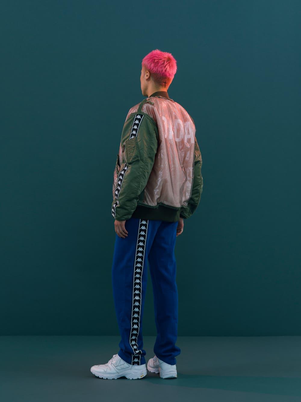 Christian Dada Kappa Fall Winter 2018 Lookbook Fashion Streetwear Collaboration