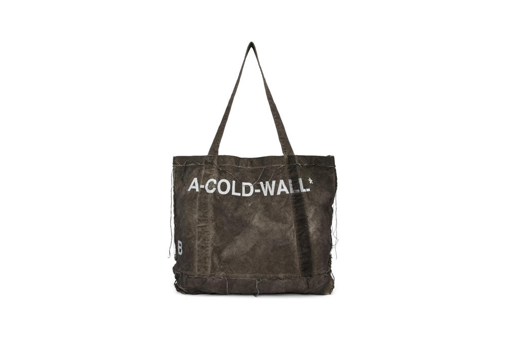A Cold Wall Canvas Tote Slate Grey