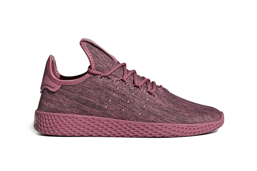 5511379f21f1c Pharrell Williams Adidas Originals Tennis Hu Fall Winter 2018 Color  Monochrome Design Yellow Pink Blue