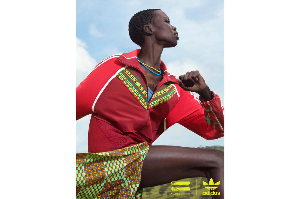 Pharrell Williams x adidas Originals SOLARHU Pack TT FZ Jacket