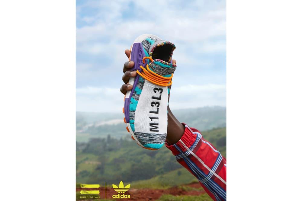 Pharrell Williams x adidas Originals SOLARHU Pack Hu NMD M1L3L3