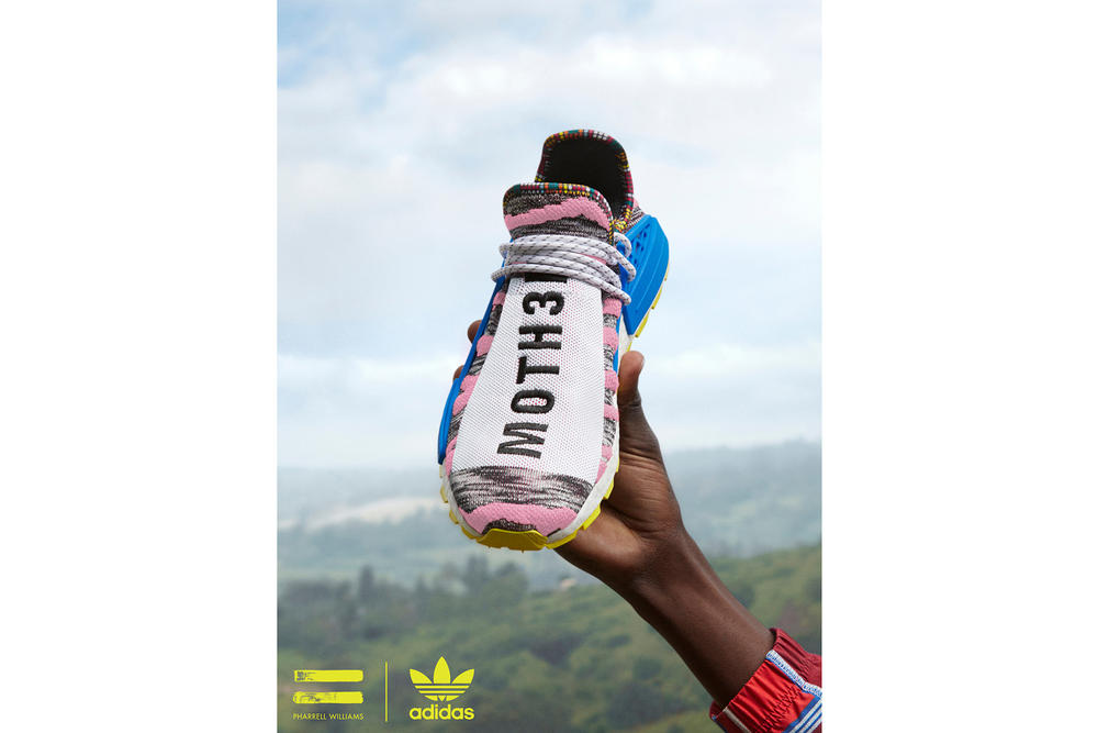 Pharrell Williams x adidas Originals SOLARHU Pack Hu NMD MOTH3R