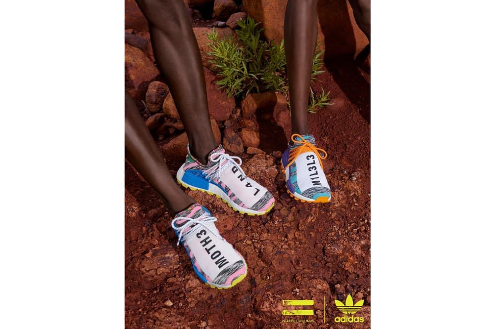 Pharrell Williams x adidas Originals SOLARHU Pack Hu NMD MOTH3R M1L3L3