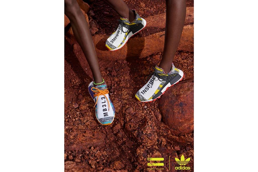 Pharrell Williams x adidas Originals SOLARHU Pack Hu NMD M1L3L3 3MPOW3R