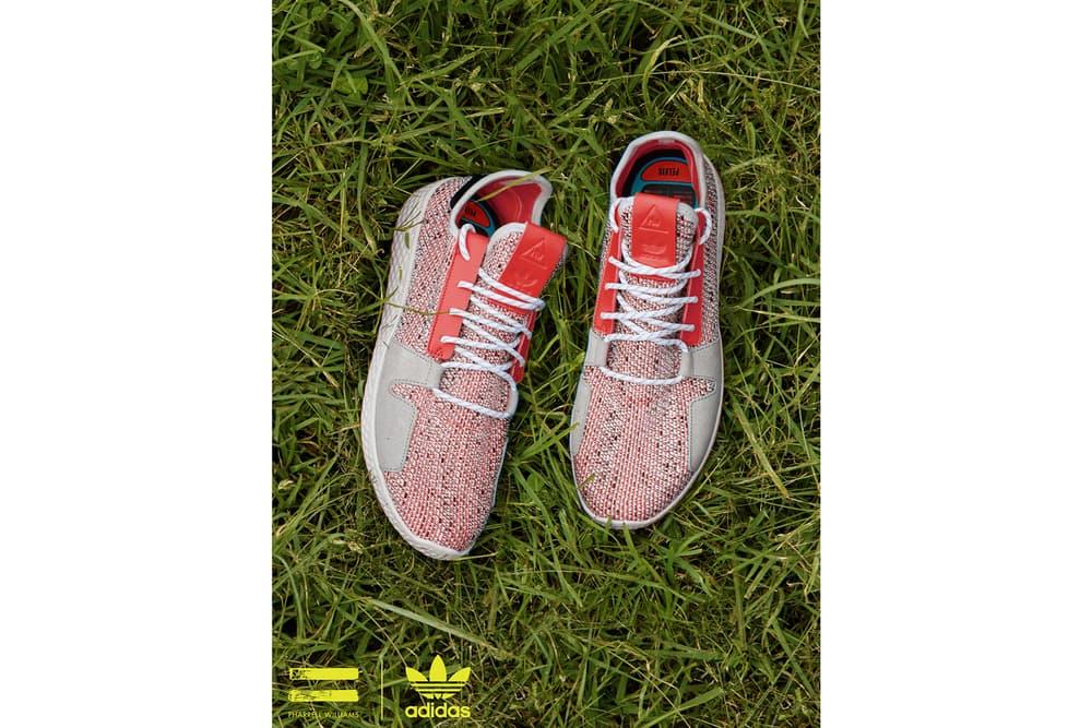 Pharrell Williams x adidas Originals SOLARHU Pack Tennis Hu V2 Red