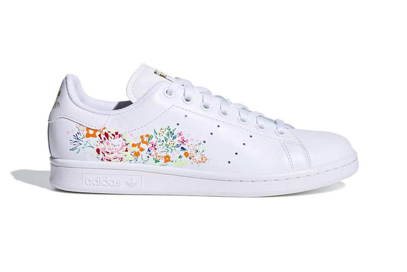 adidas Adds a Floral Swirl to the Stan Smith