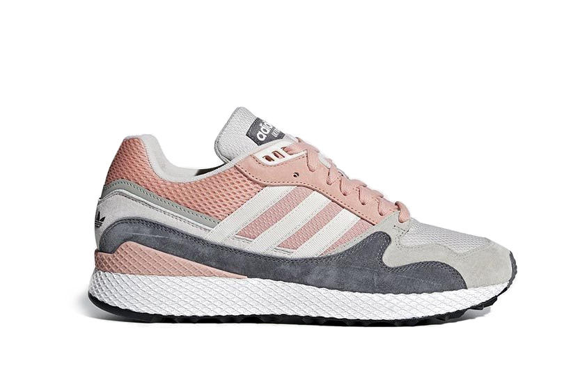 adidas Ultra Tech Sneaker Womens Exclusive Pink Black Stripe