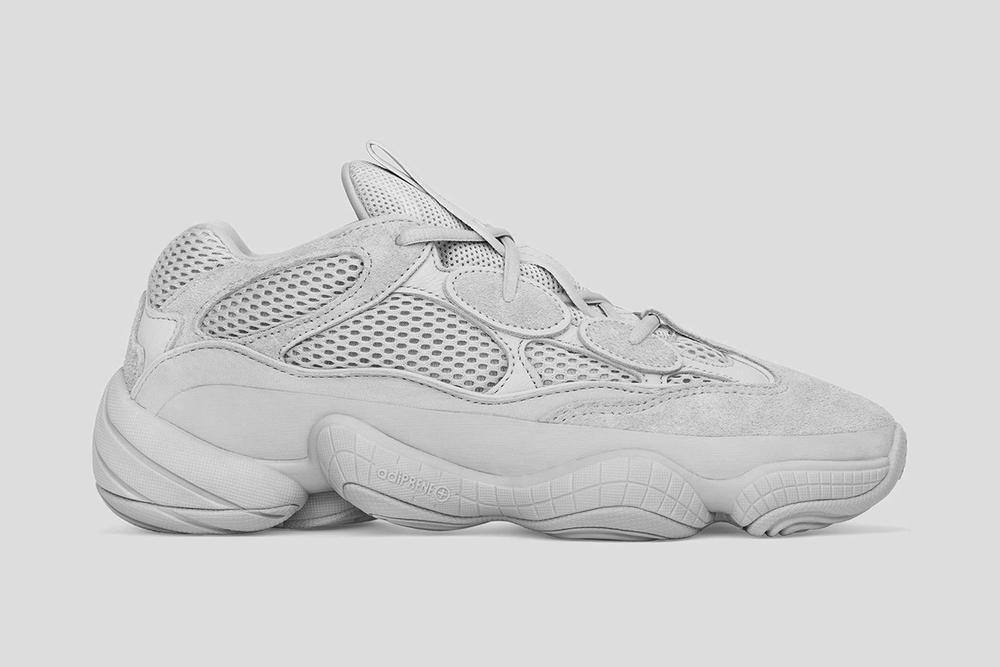 adidas YEEZY 500 Salt Release Date Grey Colorway Kanye West adidas Originals Fashion Sneaker Shoe
