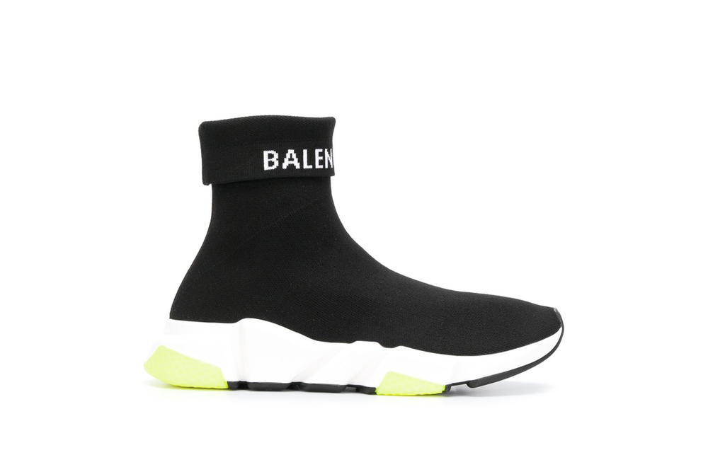 Balenciaga Speed Trainer Sock Boots Sneakers Logo Fold Demna Gvasalia Footwear Fall Winter