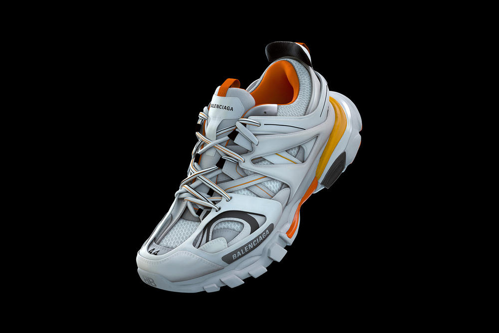Balenciaga Track Sneaker Orange White