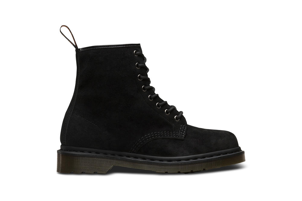BEAMS Dr. Martens 1460 Boot Black Soft Buck