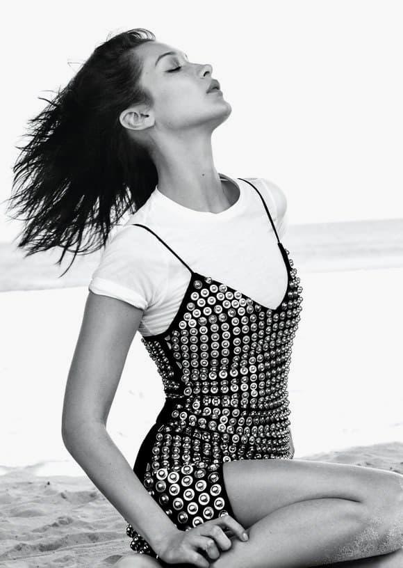 Bella Hadid Allure Magazine Interview Feature Editorial Makeup Dior Beauty Lipstick Natural Tips