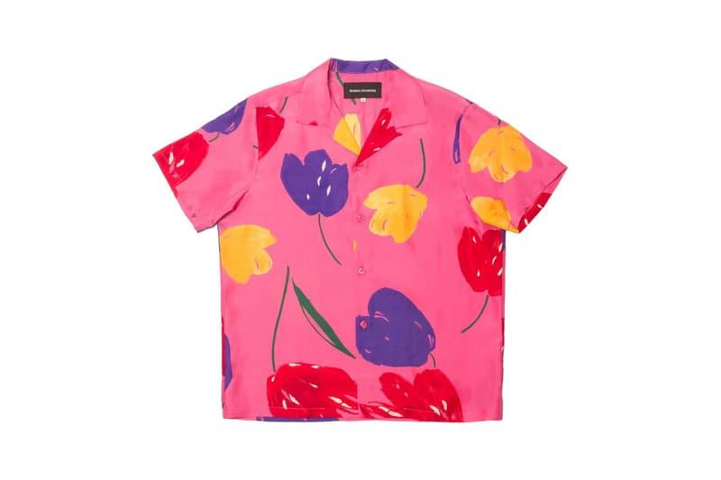 Bianca Chandon Vintage Silk Shirt Pink