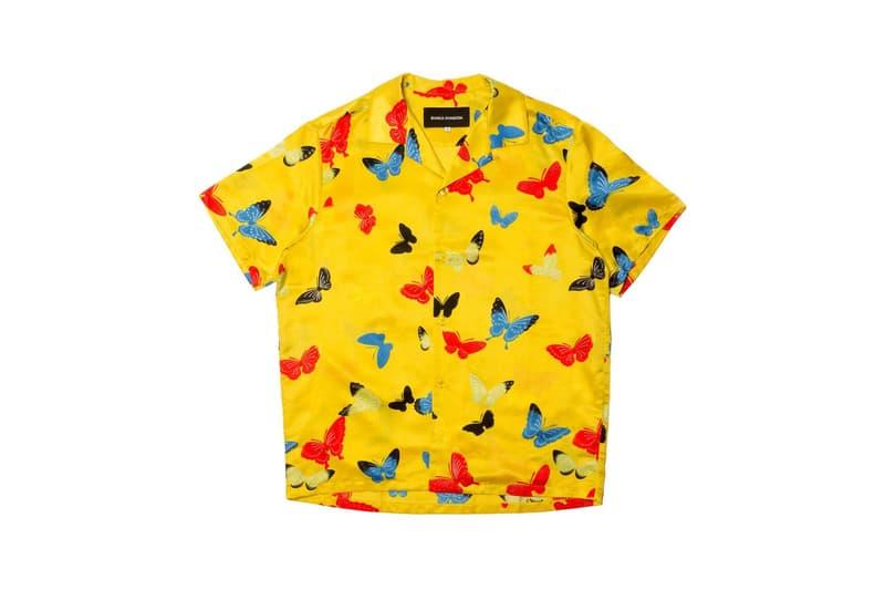 Bianca Chandon Vintage Silk Shirt Yellow