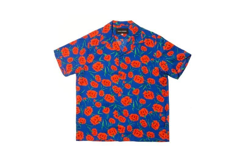 Bianca Chandon Vintage Silk Shirt Blue
