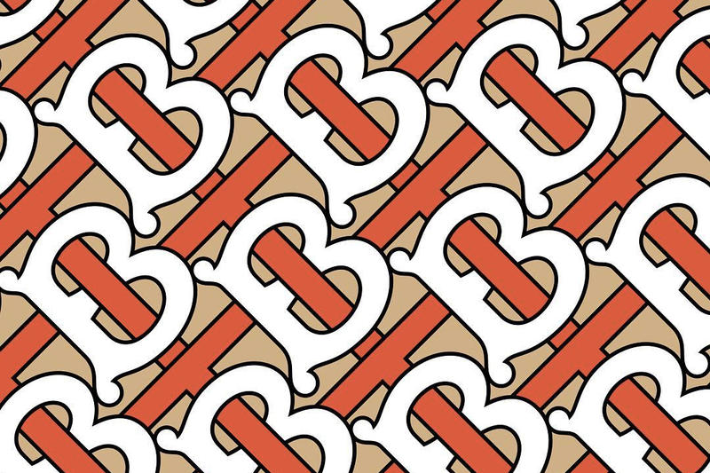 Burberry New Monogram Logo Design Peter Saville Riccardo Tisci