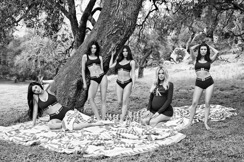 Calvin Klein Underwear Jeans Kim Kardashian Khloe Kourtney Kylie Jenner Kendall