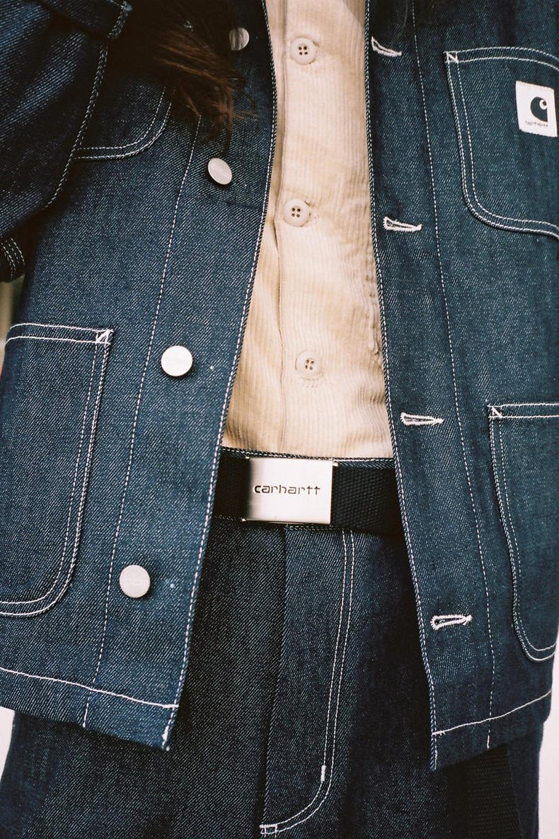 Carhartt WIP Fall/Winter 2018 Collection Lookbook Denim Jacket Blue