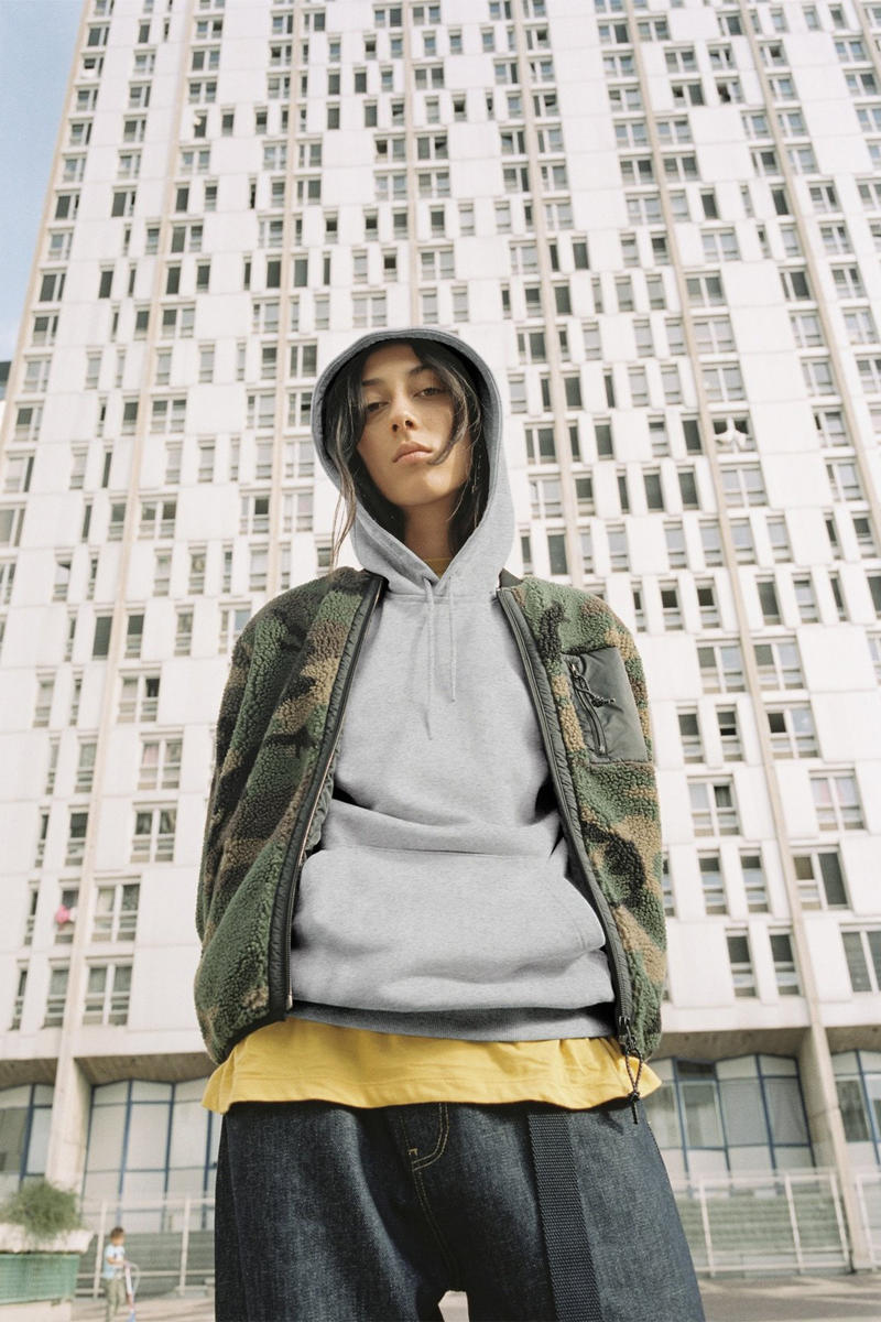 Carhartt WIP Fall/Winter 2018 Collection Lookbook Camoflauge Jacket Hoodie Grey