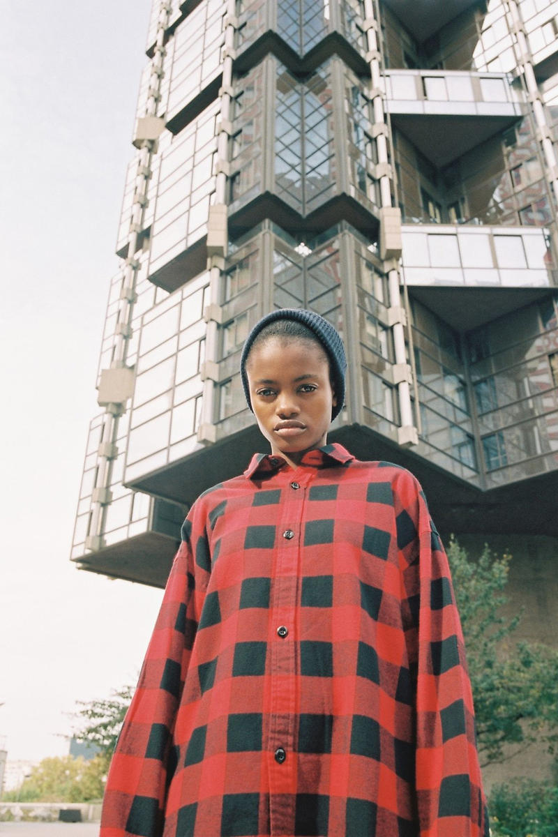 Carhartt WIP Fall/Winter 2018 Collection Lookbook Checkerboard Shirt Red Black