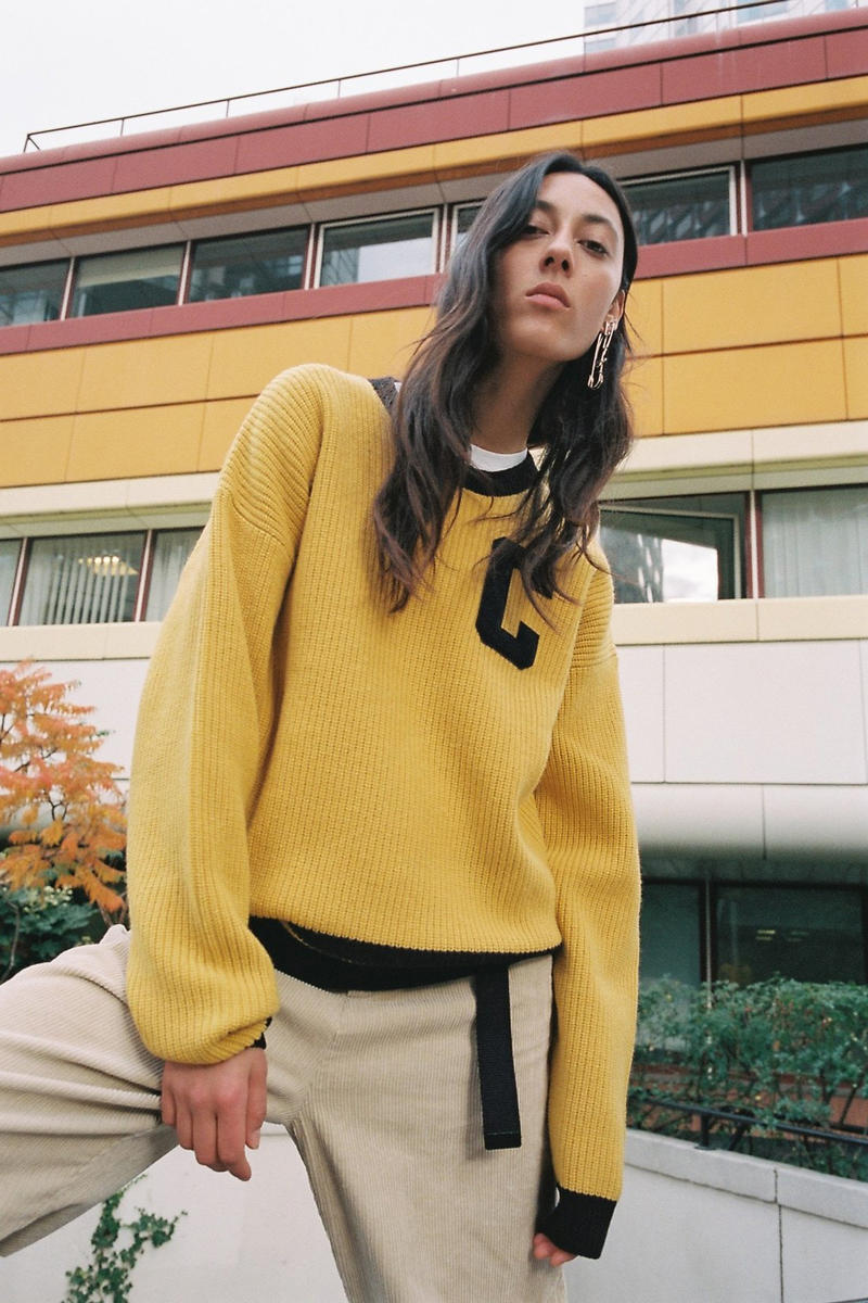 Carhartt WIP Fall/Winter 2018 Collection Lookbook Sweater Yellow