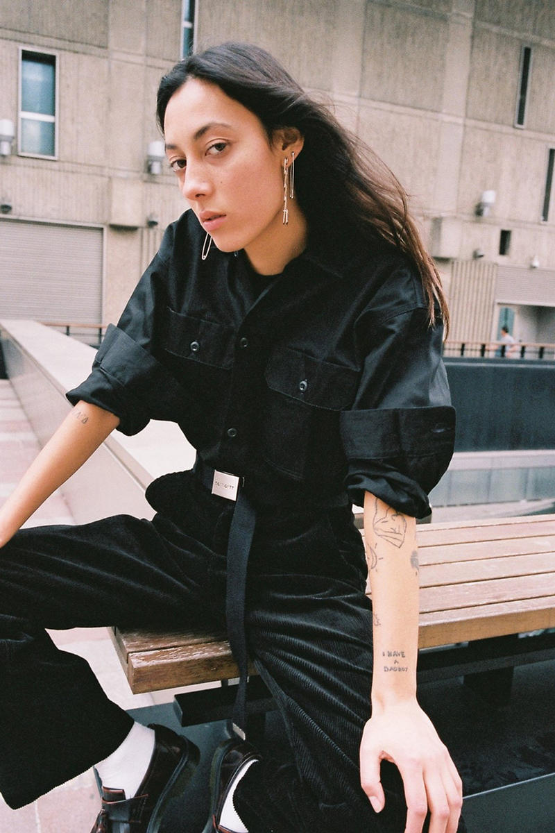 Carhartt WIP Fall/Winter 2018 Collection Lookbook Jumpsuit Black