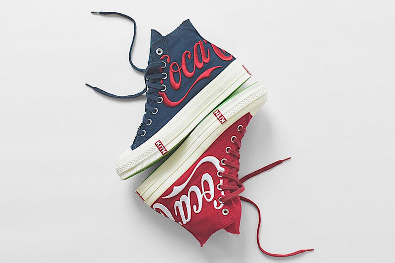 KITH x Coca Cola x Converse Chuck Taylor All Star '70 Navy Red