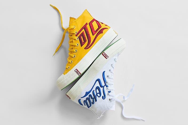 93ff5e1abf53 KITH x Coca Cola x Converse Chuck Taylor All Star  70 Yellow White