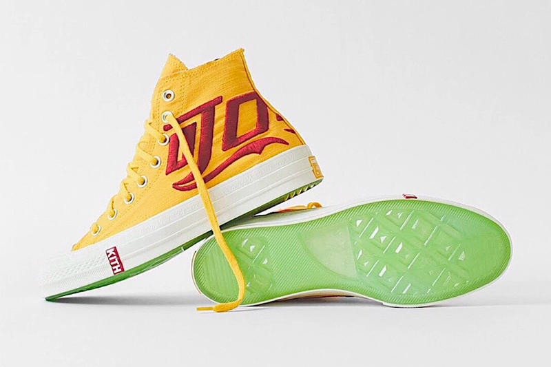 KITH x Coca Cola x Converse Chuck Taylor All Star '70 Yellow Red