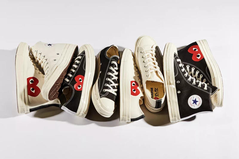 comme des garcons cdg play converse chuck taylor now available on nike