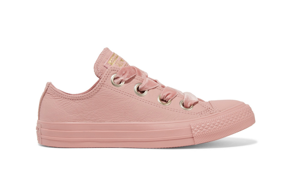 Converse Chuck Taylor All Star Rose Pink Leather | HYPEBAE