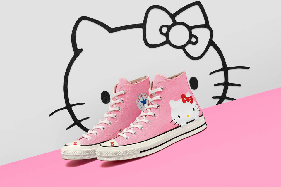 Hello Kitty x Converse Chuck Taylor and One Star  179e7a6cd3143