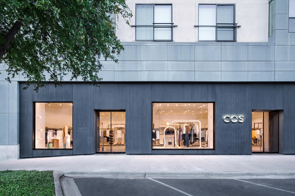 COS Austin Texas Store First Look Front