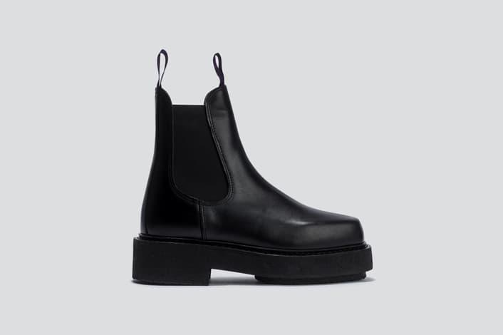 Eytys Ortega Leather Boot Black
